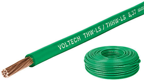 CABLE THHW-LS VERDE 14 AWG