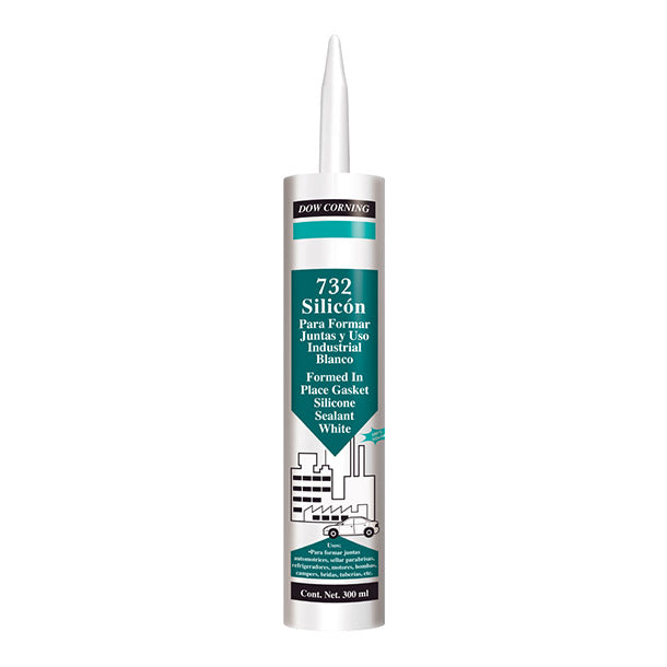 DOW CORNING 732 BLANCO CART 300ML