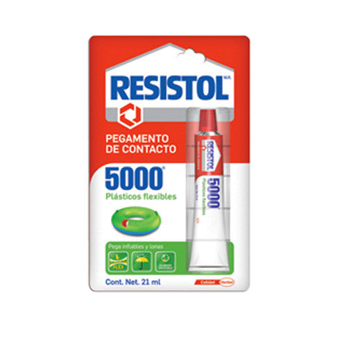 RESISTOL 5000 PLASTICOS FLEXIBLES 21ML