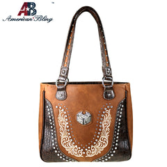 ABD-4012 American Bling Dual Sided Concealed Carry Tote Bag