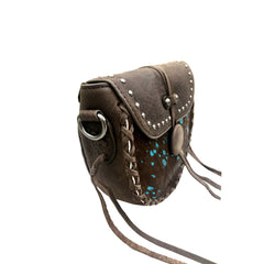RLC-L119 Montana West Real Leather  Crossbody