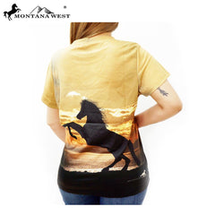 ST-622 Montana West Western Wear Ladies T Shirt Prepack (6PCS)