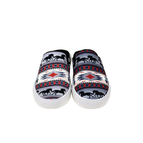 800-S002  Montana West Southwestern Print Collection Sneaker Slides - By Case