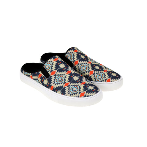 800-S008  Montana West Southwestern Print Collection Sneaker Slides - By Case