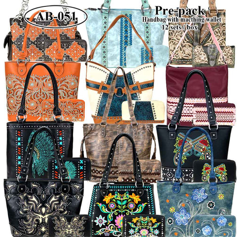AB-051W American Bling Pre-pack Set