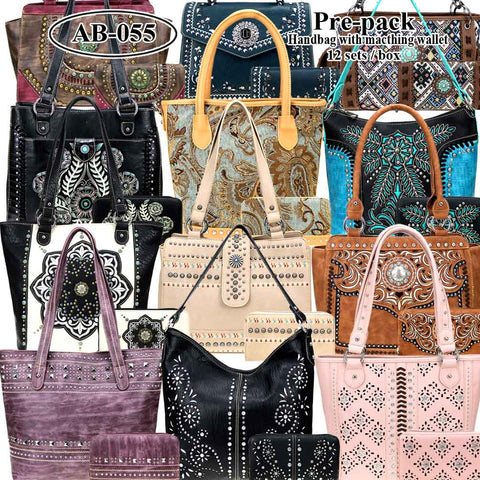 AB-055W American Bling Pre-pack Set