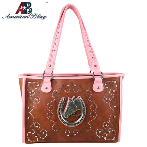 ABD-1003  American Bling Dual Sided Concealed Carry Tote Bag