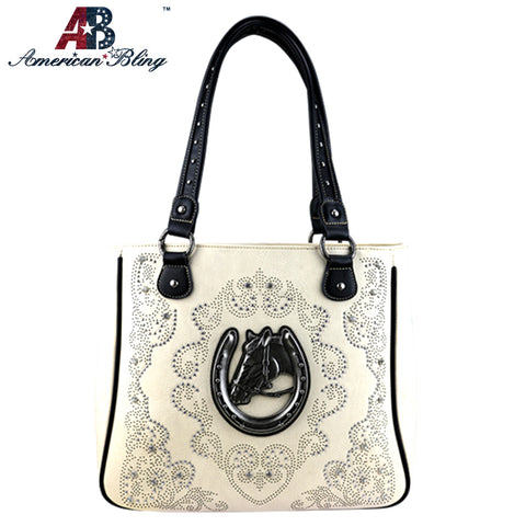 ABD-1004  American Bling Dual Sided Concealed Carry Tote Bag