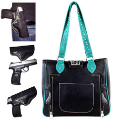 ABD-1002  American Bling Dual Sided Concealed Carry Tote Bag