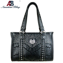 ABD-2007  American Bling Dual Sided Concealed Carry Tote Bag