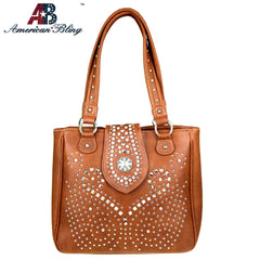 ABD-3008  American Bling Dual Sided Concealed Carry Tote Bag
