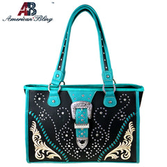 ABD-4005  American Bling Dual Sided Concealed Carry Tote Bag
