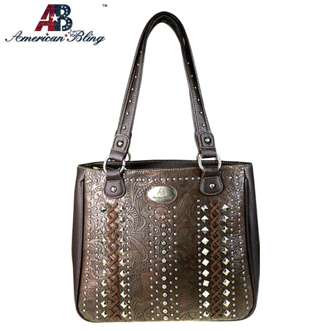 ABD-4008  American Bling Dual Sided Concealed Carry Tote Bag