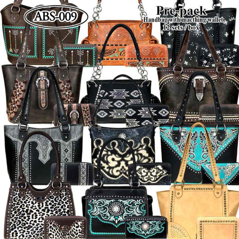 ABS-009 American Bling Pre-pack (12 Set)