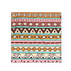 BDN02  Montana West Tribal Pattern Print Bandana - Assorted Colors (12 PCS)
