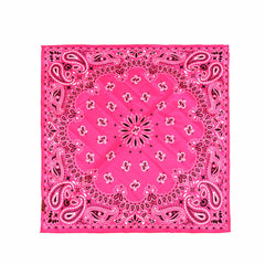 BDN05  Montana West Paisley Mandala Print Bandana- Assorted Colors (12 PCS)