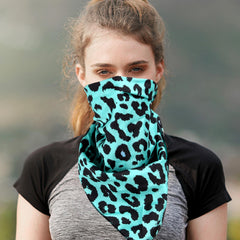 BDN10  Montana West Leopard Print Bandana- Assorted Colors (12 PCS)