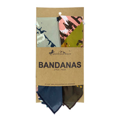 BDN13  Montana West Indian Chief Print Bandana - Assorted Colors (12 PCS)