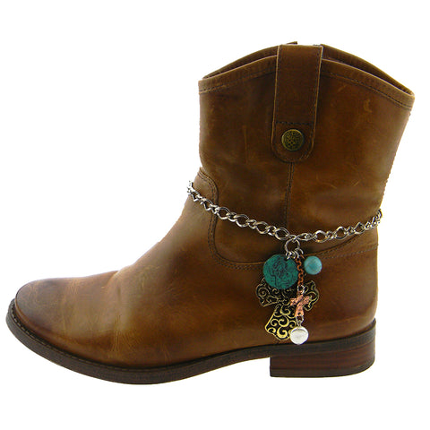 BOT180315-04  WESTERN CHARMS BOOT CHAIN