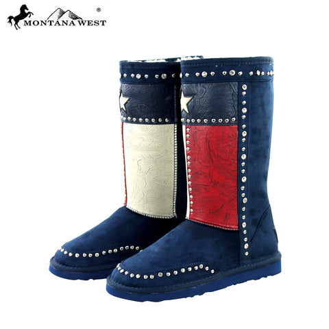 BST-018 Montana West Texas Pride Collection Boots