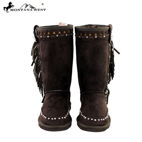 BST-020 Montana West Fringel Collection Boots