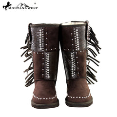 BST-022 Montana West Tooled Collection Boots