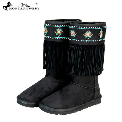 BST-103 Montana West Boots Fringe Collection- By Case