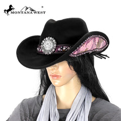 CHT-9013 Montana West Cowgirl Collection Hat