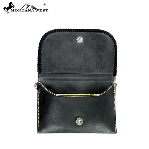 CLS-003  American Bling Western Studded Clutch/Mini Shoulder Bag