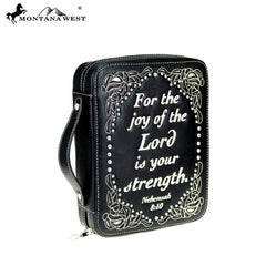 DC018-OT Montana West Scripture Bible Verse Collection Bible Cover