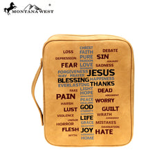 DC026-OT Montana West  Spiritual Collection Bible Cover