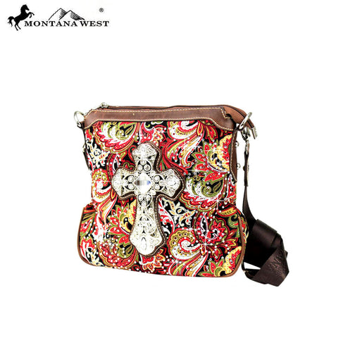 FBC-8295 Montana West Spiritual Collection Crossbody