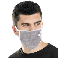 FCM-039 American Bling Fabric Face Mask Double Layer with Adjustable Nose Clip 1PC  Pack