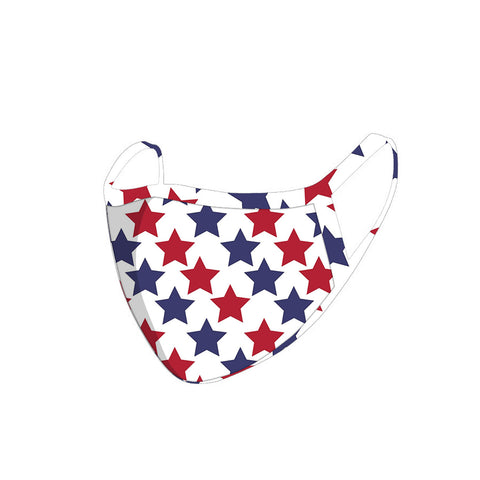 FCM-067  American Bling Stars Print Cloth face Mask 1Pcs