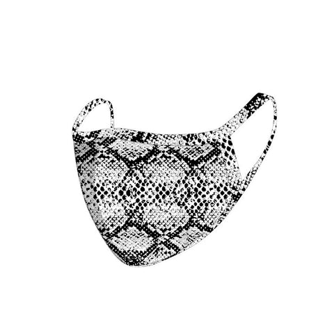 FCM-068  American Bling Snake Print Cloth Face Mask 1Pcs