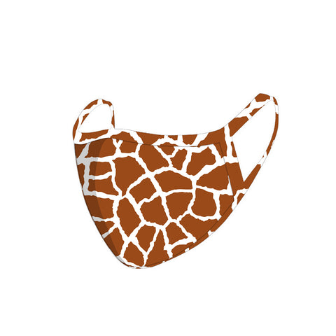 FCM-069 American Bling Safari Collection Print Fabric Face Mask Double Layer-1Pcs