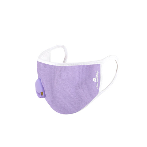 FCM-KD01R American Bling Kid Fabric Face Mask Double Layer with Adjustable Nose Clip  Single Breathing Valve 1PC/Pack