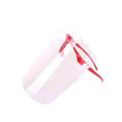 Safety Face Shield Anti-Fog Face Visor 10 Pcs Replaceable Shields & 10 Pairs Reusable Goggles Protect Eyes and Face