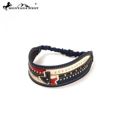 Montana West Texas Pride Headband HB-003