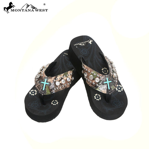 HF-S085 Spiritual Camo Collection Flip Flops by Case