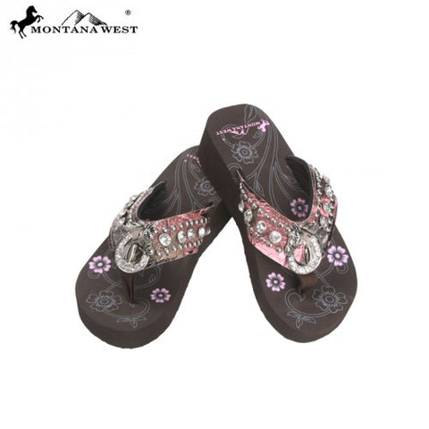 HF-S087 Horseshoe Camo Collection Flip Flops By Case