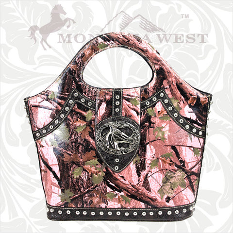 HFC-8327 Montana West Horse Camo Collection Handbag