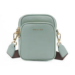 MWL-008 Montana West Genuine Leather Shoulder/Crossbody Bag-Green