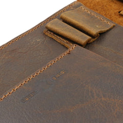 "MWL- 037 Montana West Western Vintage Genuine Leather Journal Notebook Handheld Size 6.5"" x 9.25"" (150 Sheets/300 Pages)"