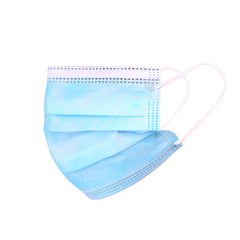 KD-FMBL-20  American Bling Kids 3 Ply Disposable Blue Face Mask Non-Medical (20pcs/Box)