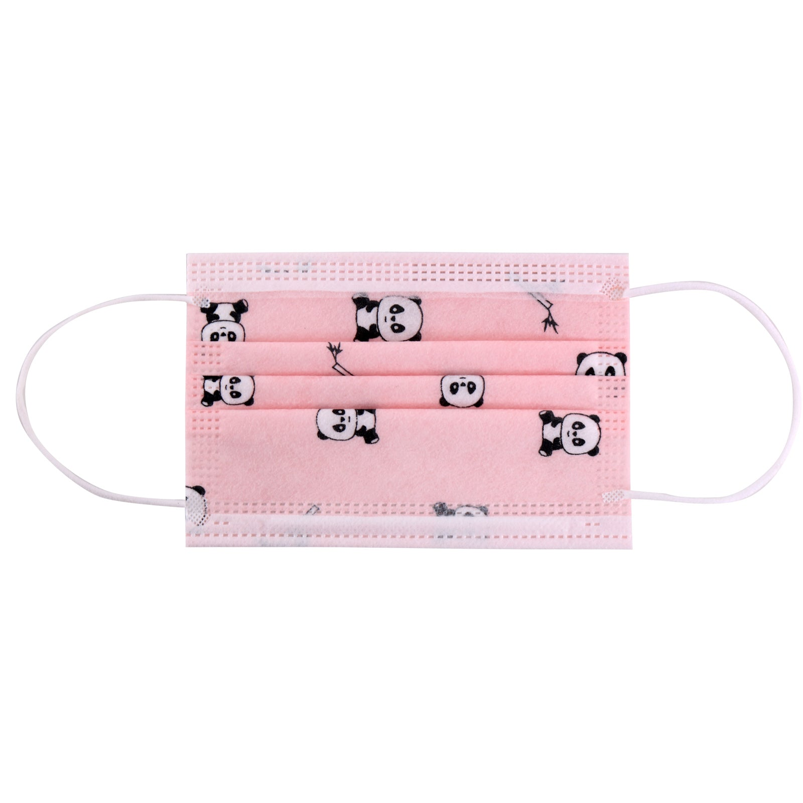 KD-FMPK1 American Bling Kids 3 Ply Disposable Pink Panda Face Mask Non-Medical (5pcs/Pack)