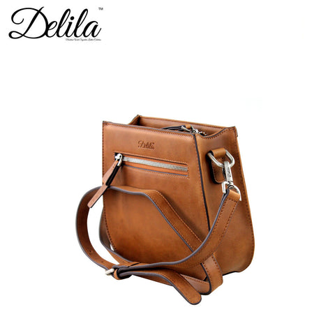LEA-6015 Delila 100% Genuine Leather Tooled Collection