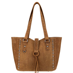 LEA-6057 Delila 100% Genuine Leather Collection Tote