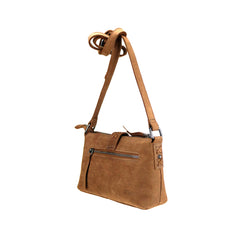 LEA-6058 Delila 100% Genuine Leather Collection Crossbody
