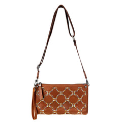 MW950-183 Montana West Genuine Leather Clutch/Crossbody